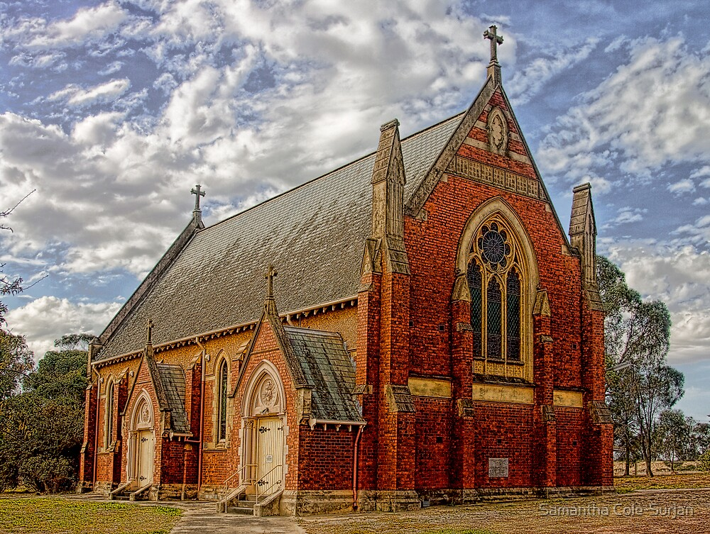 St Mary's, Inglewood by Samantha Cole-Surjan