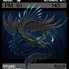 Scygon Elemental Card #5: Promethium by Lucieniibi