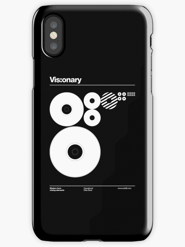 vis onary iphone cases covers by sub88 redbubble. Black Bedroom Furniture Sets. Home Design Ideas