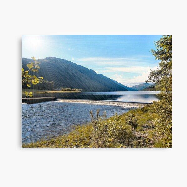 Overflow in Locheck Canvas Print