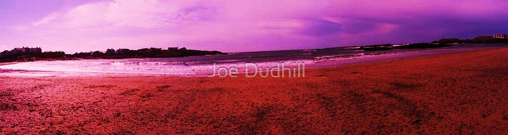 panaramic sea scape art by Joe Dudhill