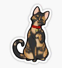 Tortie/Tortoiseshell Cat Sticker