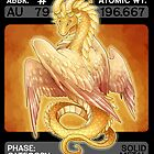 Scygon Elemental Card #8: Gold by Lucieniibi