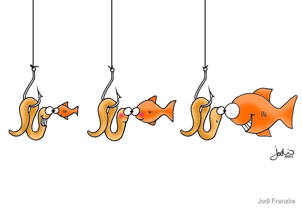 Hook, Line and Sinker! (Card) by Jodi Franzke