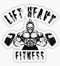 Lift Heavy Fitness Sticker