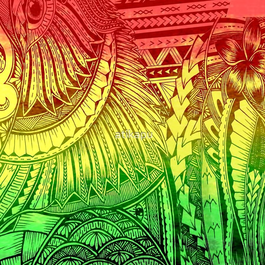 Reggae Polynesian Designs\