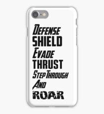Avengers Training Initiative Battle Sequence iPhone Case/Skin