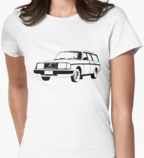 Volvo 240 Wagon Women's Fitted T-Shirt