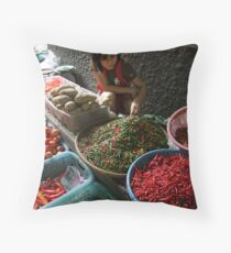 Market - Spice Throw Pillow