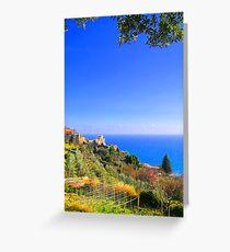 A corner on Liguria II. Greeting Card
