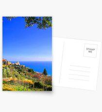 A corner on Liguria II. Postcards