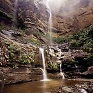 Wentworth Falls Blue Mountains by Brett Thompson