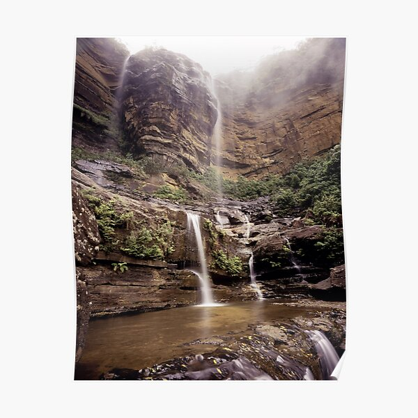 Wentworth Falls Blue Mountains Poster