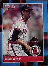 298 - Mike Witt by Foob's Baseball Cards