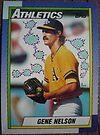 299 - Gene Nelson by Foob's Baseball Cards