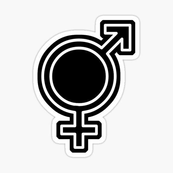 Transgender/Genderfluid/Mixed Sticker Sticker
