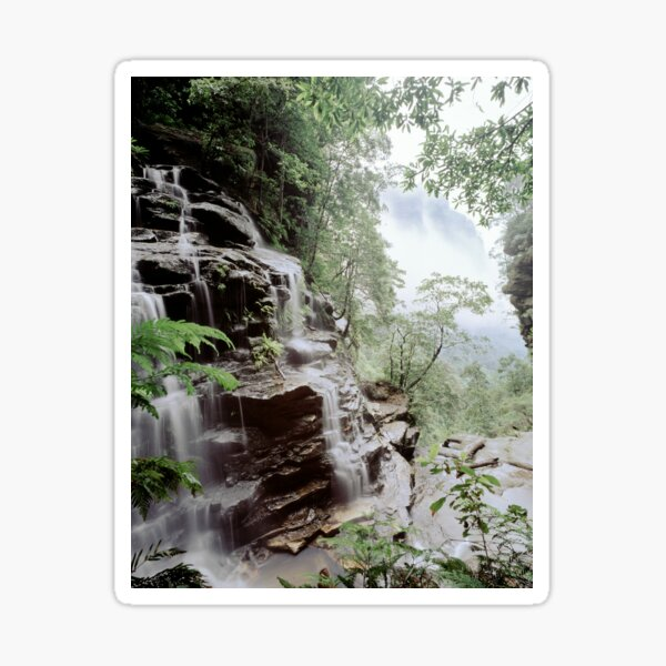 Valley Of The Waters Wentworth Falls Sticker