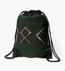 Loki Runes Drawstring Bag