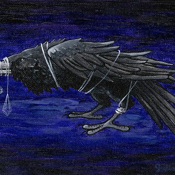 CRYSTAL RAVEN by juliawaters