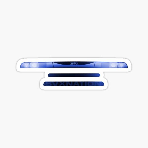 SVX GRILL BLUE Sticker