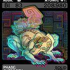 Scygon Elemental Card #6: Bismuth by Lucieniibi