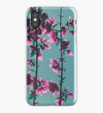 Floral pattern/background iPhone Case