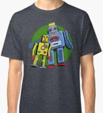 Retro Robots Classic T-Shirt