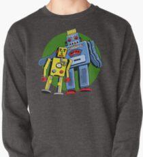 Retro Robots Pullover
