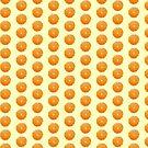 Fresh Orange Juice Pattern Dress by deanworld