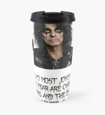 Alice Cooper - wisdom Travel Mug