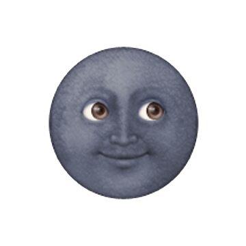 Moon Face by DennisNewsome
