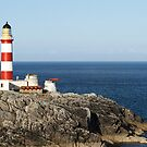 Eilean Glas lighthouse, Scalpay by Amy Collinson
