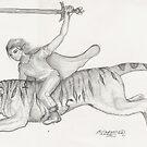 Tiger Rider by Stephanie Small