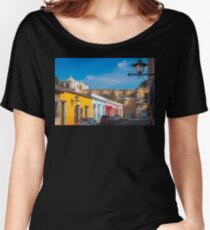 Heritage Street in Antigua, Guatemala Women's Relaxed Fit T-Shirt