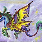 Rainbow Unicorn Fairy by Stephanie Small