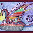Fairy and Fairy Dragon by Stephanie Small