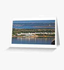 Mellieha Bay Hotel Greeting Card