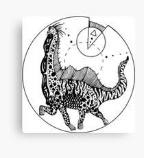 Sauropod Canvas Print