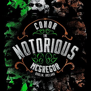"Conor Notorious McGregor ""VINTAGE"" by MMATEES"