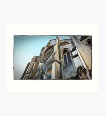 """""""Churches"""" Art Print"""