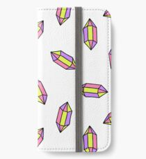 gem seamless doodle pattern iPhone Wallet