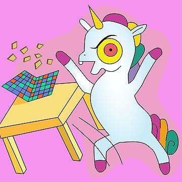 Angry Unicorn by karuja