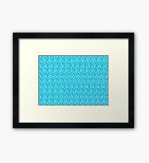 3D Stereogram - Star Framed Print