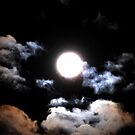 Clouds on a Full Moon by Mark Batten-O'Donohoe