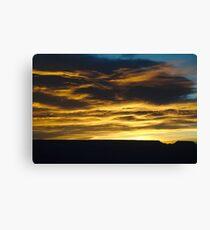 Sunrise at Grand Canyon Canvas Print