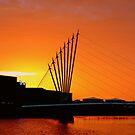 Sundown, Salford by mikeosbornphoto