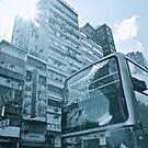 Hong Kong bus by Leia