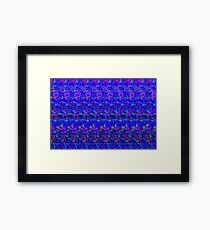 3D Steroeogram - Young Love Framed Print