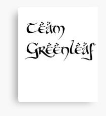 Team Greenleaf Canvas Print