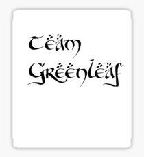 Team Greenleaf Sticker
